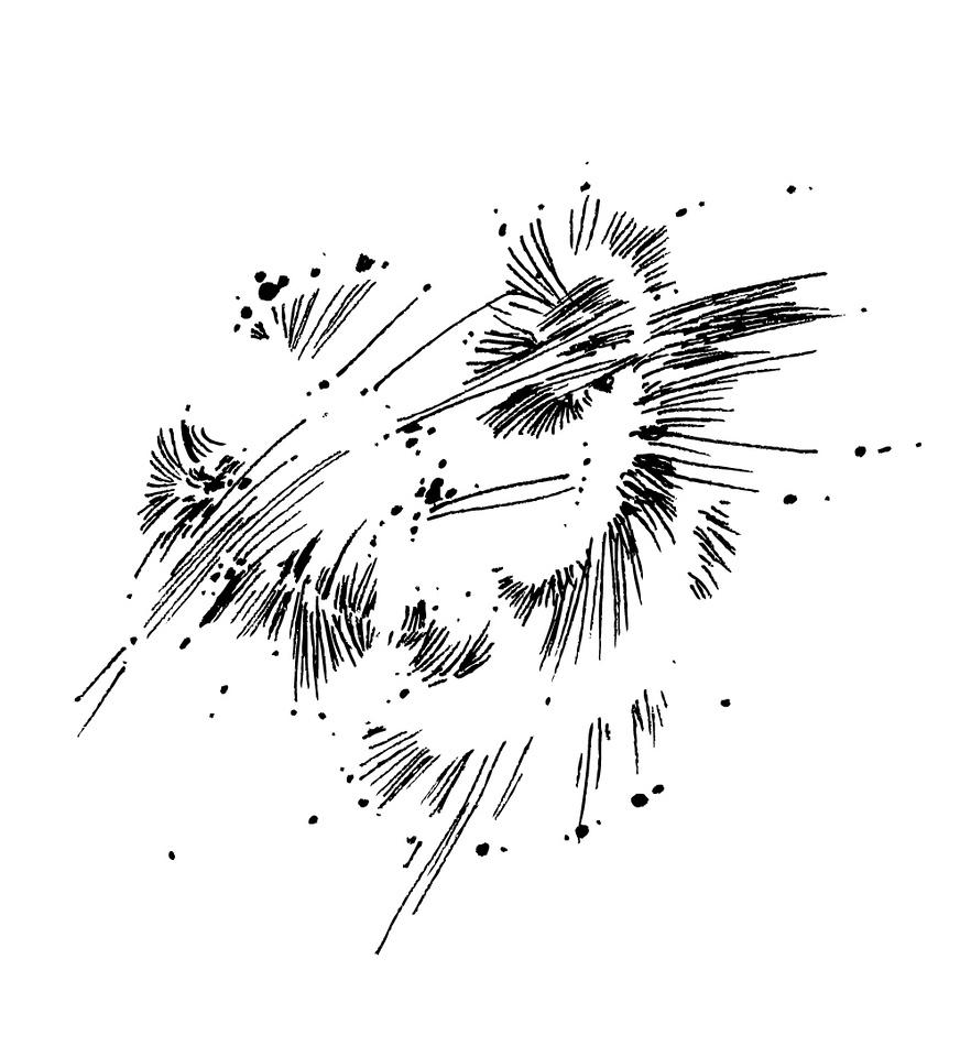 minimal, doodle