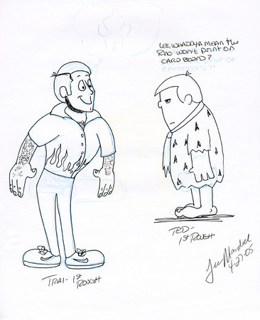 Trai and Ted Sketches
