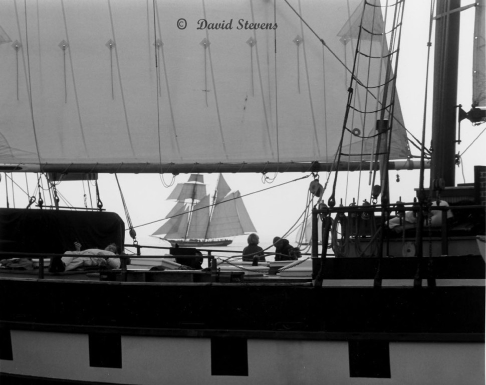 A Quiet Afternoon on the Mystic Whaler