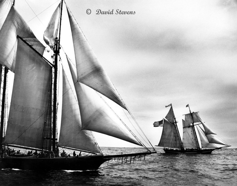 Schooners Ernestina and Pride of Baltimore