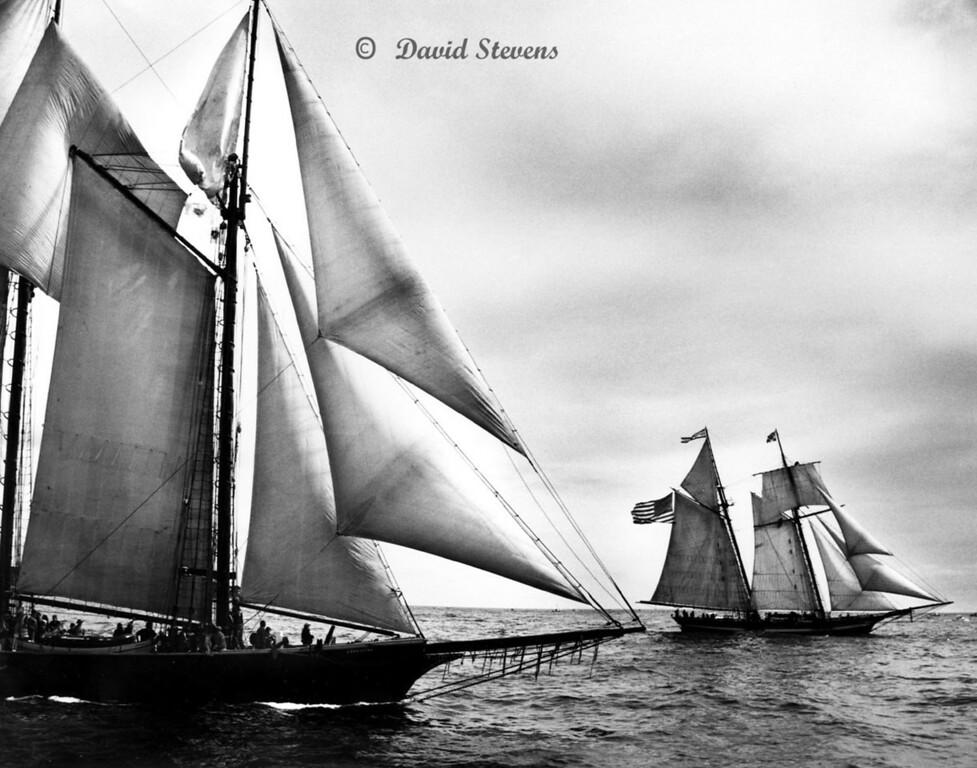 Schooners Ernestina and Pride of Baltimore