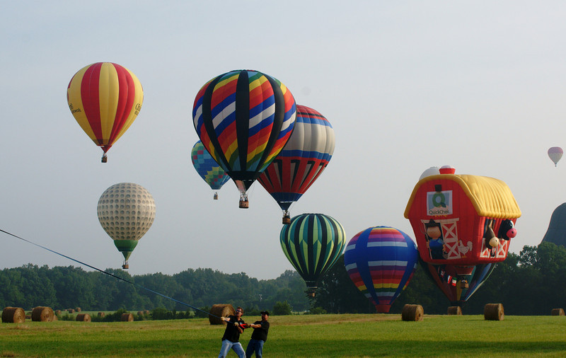 27th annual quick check festival of ballooning