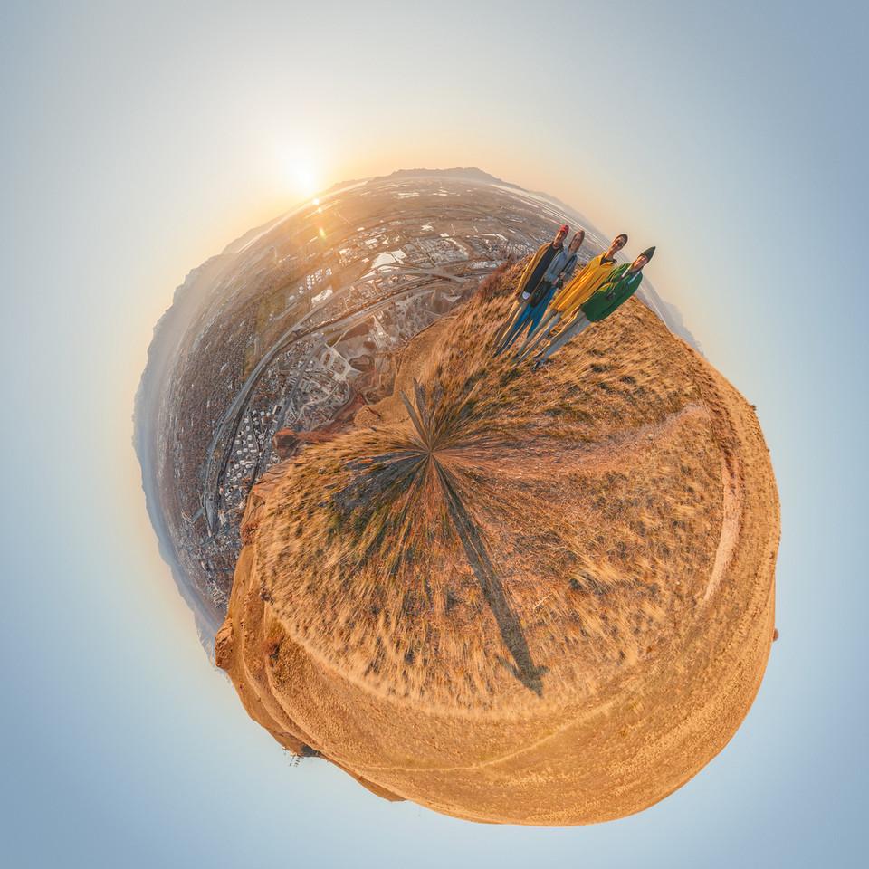 Bonneville Shoreline Preserve small planet