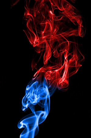 Smoke Torch , Cottage Grove fine art photographer and photography