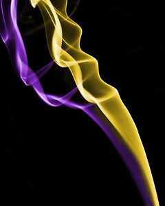Purple and Yellow Smoke , Cottage Grove fine art photographer and photography