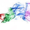 Multi-colored Smoke , Cottage Grove fine art photographer and photography