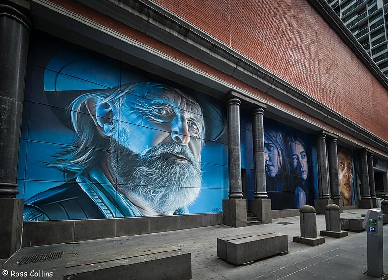 Smug Murals, Melbourne, 11 December 2017