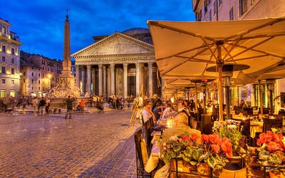 Piazza Rotunda & the Pantheon