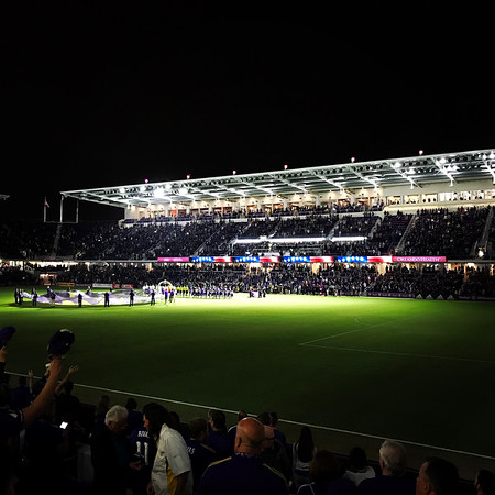 OCSC Stadium at Night
