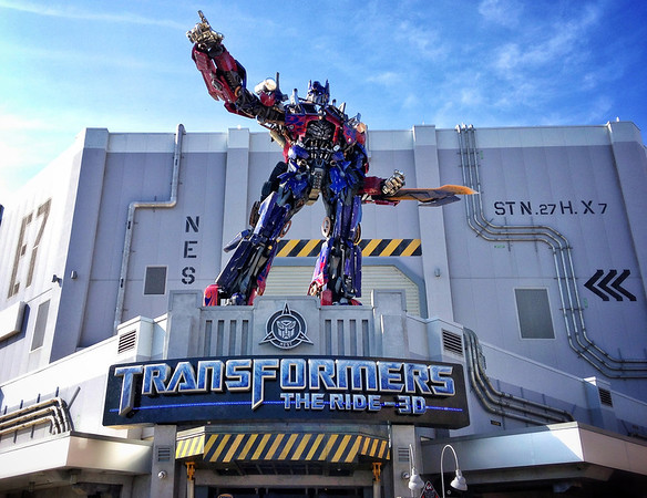 Transformers The Ride-3D, Opening Week.
