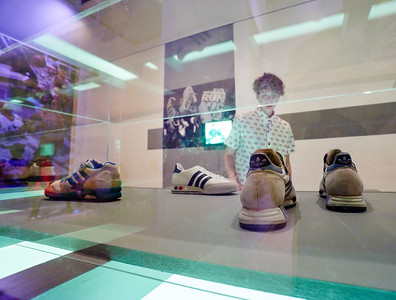 Friday August 14,2015 - Sneaker exhibit at the Brooklyn Museum