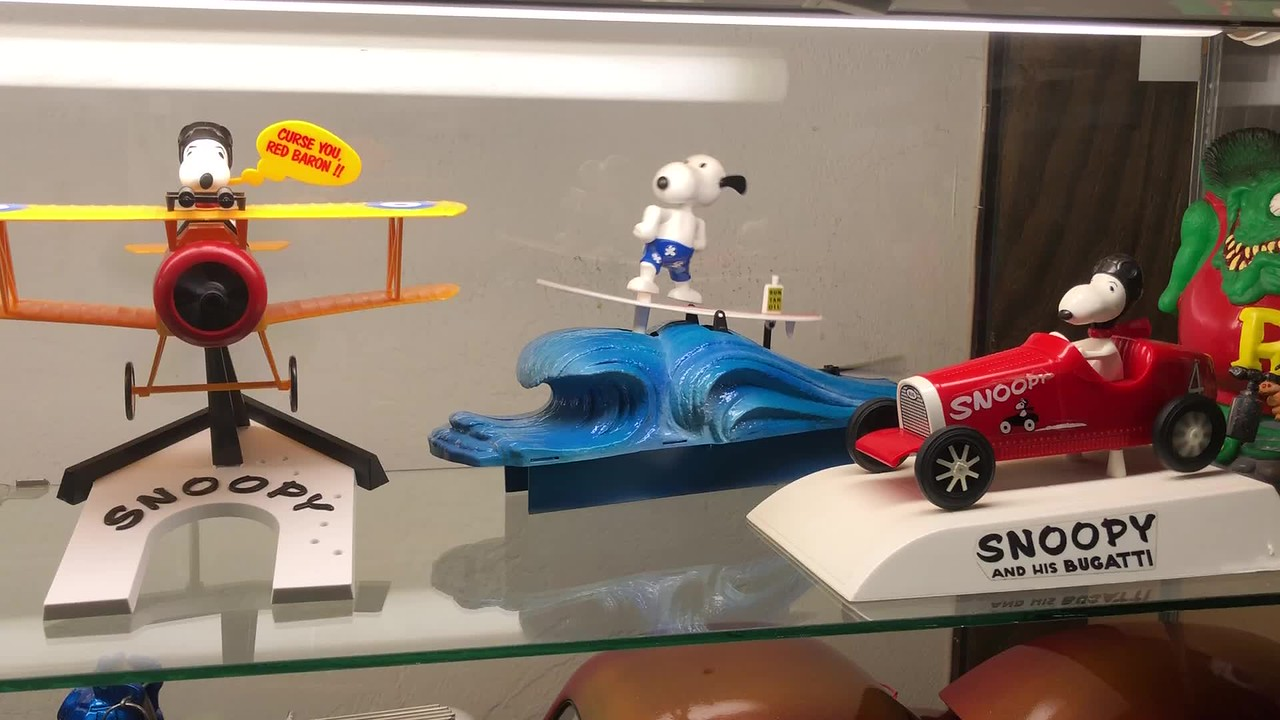 Video of Snoopy kits in action!