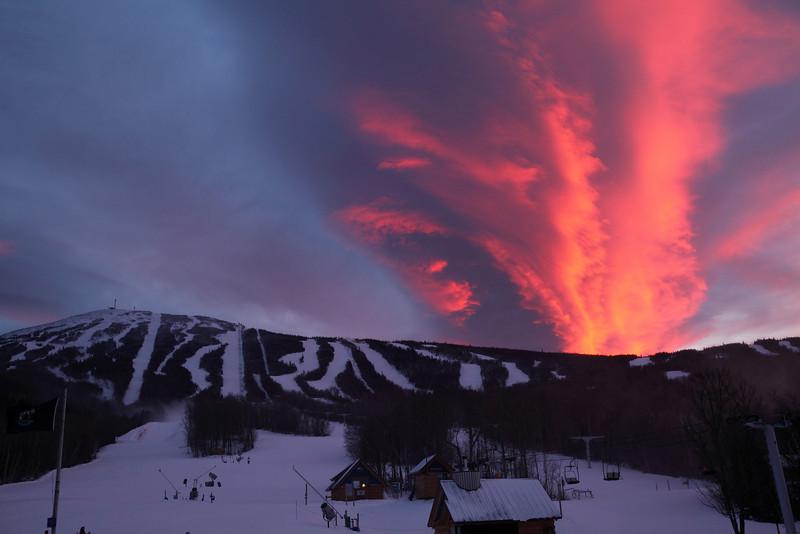 Sugarloaf Eruption
