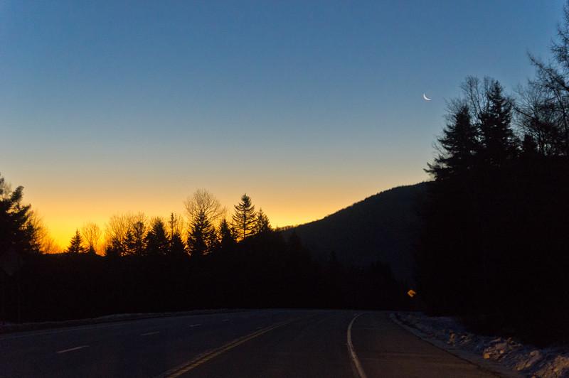 Sun, Moon, Road