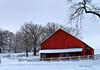 Red Barn In the Snow_5439798802_o