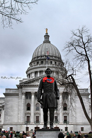 Many more photos from the March in Madison are on suepics.com