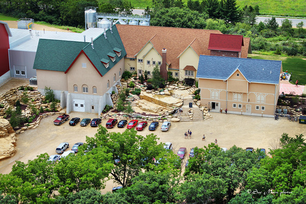 The New Glarus Brewing Company, Hilltop facility home of Spotted Cow.