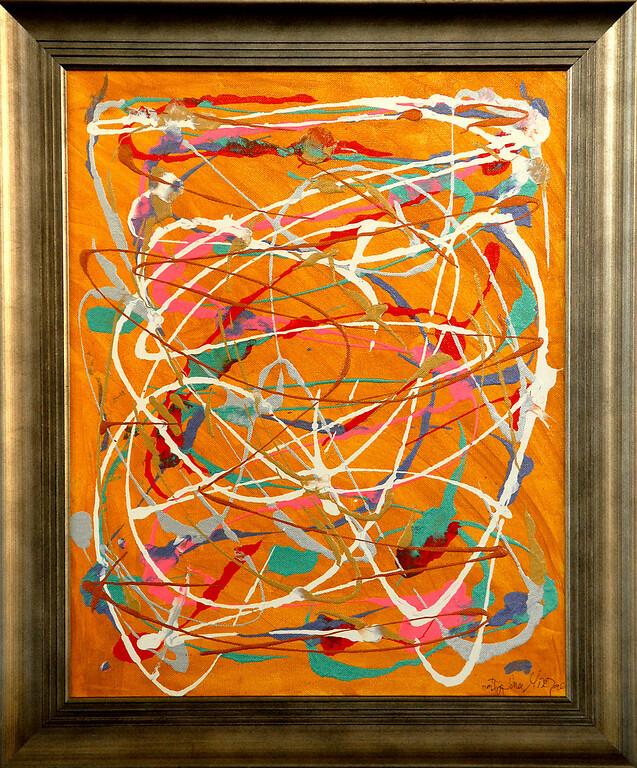 My Kalpana - February 2009 - 16x20 - acrylic on canvas.