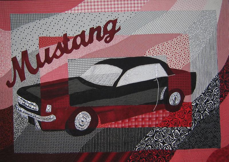 65 Mustang Quilt