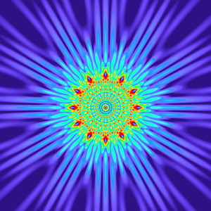 140 Hz - Equal Polarity Sound Pressure Mandala. (See photo gallery description for more details).