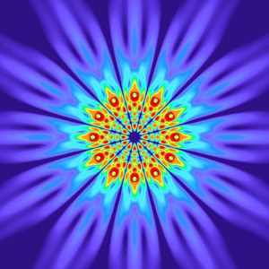 84 Hz - Alternating Polarity Sound Pressure Mandala. (See photo gallery description for more details).