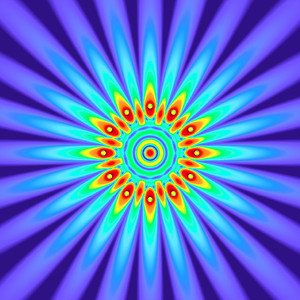 47 Hz - Equal Polarity Sound Pressure Mandala. (See photo gallery description for more details).