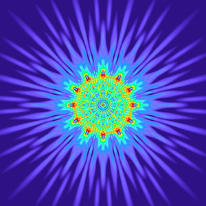 168 Hz - Equal Polarity Sound Pressure Mandala. (See photo gallery description for more details).