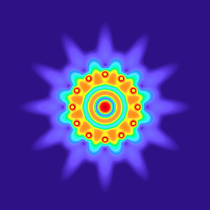 26.2 Hz - Equal Polarity Sound Pressure Mandala. (See photo gallery description for more details).