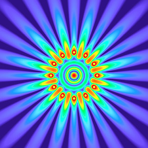 37.2 Hz - Equal Polarity Sound Pressure Mandala. (See photo gallery description for more details).