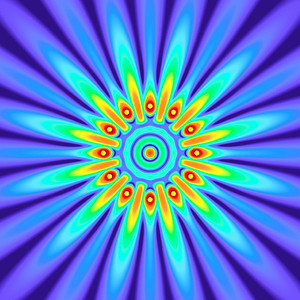 42 Hz - Equal Polarity Sound Pressure Mandala. (See photo gallery description for more details).