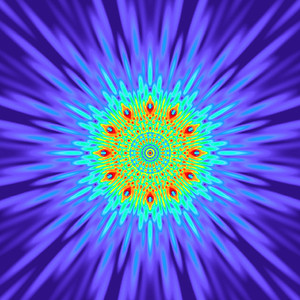 148 Hz - Equal Polarity Sound Pressure Mandala. (See photo gallery description for more details).
