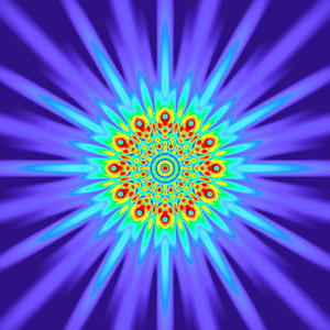 94 Hz - Equal Polarity Sound Pressure Mandala. (See photo gallery description for more details).