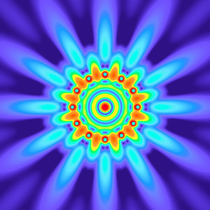 33 Hz - Equal Polarity Sound Pressure Mandala. (See photo gallery description for more details).