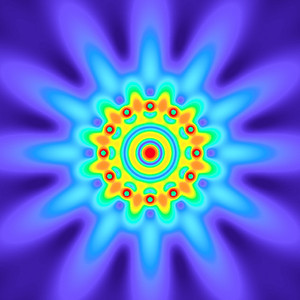 29.5 Hz - Equal Polarity Sound Pressure Mandala. (See photo gallery description for more details).