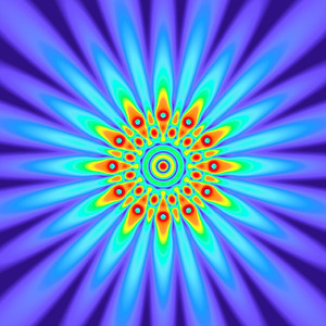 59 Hz - Equal Polarity Sound Pressure Mandala. (See photo gallery description for more details).