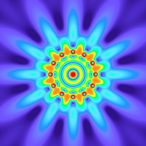 31.5 Hz - Equal Polarity Sound Pressure Mandala. (See photo gallery description for more details).