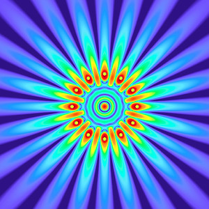 45 Hz - Equal Polarity Sound Pressure Mandala. (See photo gallery description for more details).