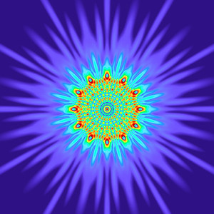131 Hz - Equal Polarity Sound Pressure Mandala. (See photo gallery description for more details).