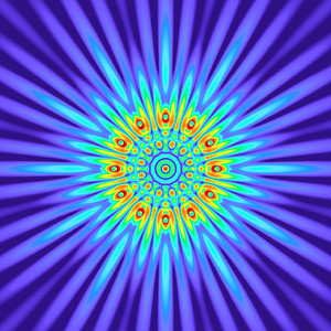 84 Hz - Equal Polarity Sound Pressure Mandala. (See photo gallery description for more details).