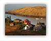 Monhegan Red House and Manana