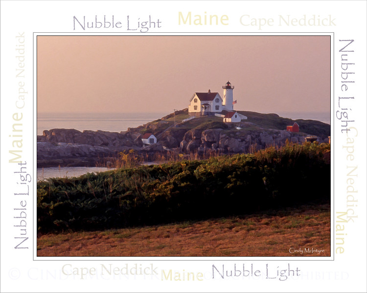 Nubble Light WordArt