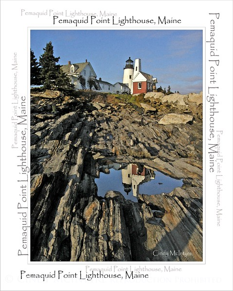 Pemaquid Reflections WordArt