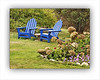 Monhegan Blue Adirondacks