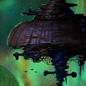 Pirate Planet Raid Ship