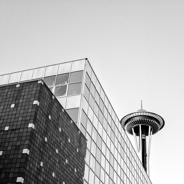 Space Needle Abstract I