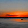 Sunrise Art over St. Johns River