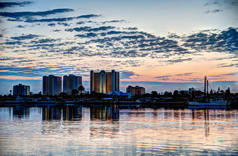 Sunrise across the Halifax