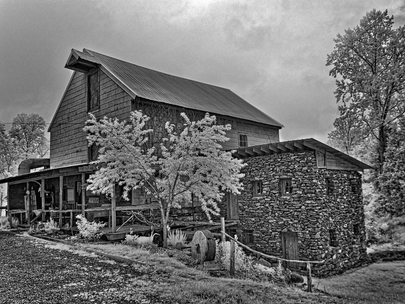 Old Mill of Guilford and its Stone House