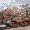 Sheman Tank at Camp Blanding