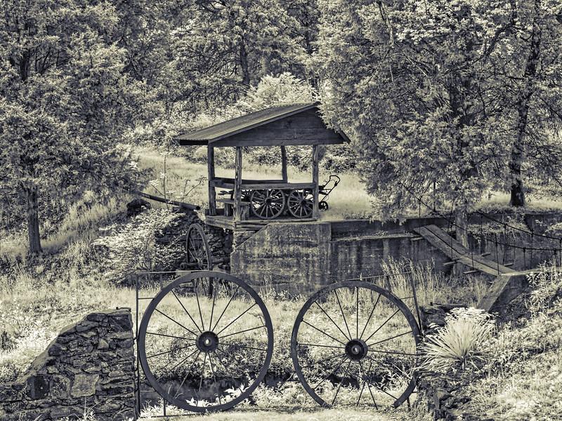 Wagon Wheels at Old Mill of Guilford